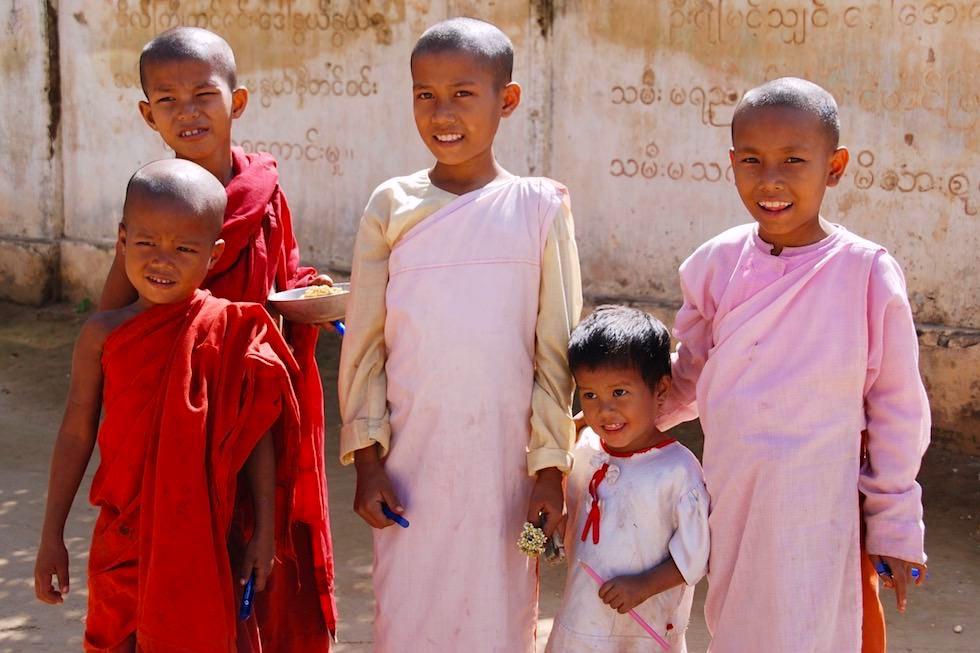 Kinder lachen - Burma