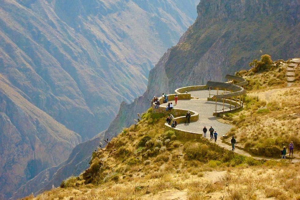 Colca Canon: Aussichtspunkt Kreuz des Kondors - Chivay - Peru