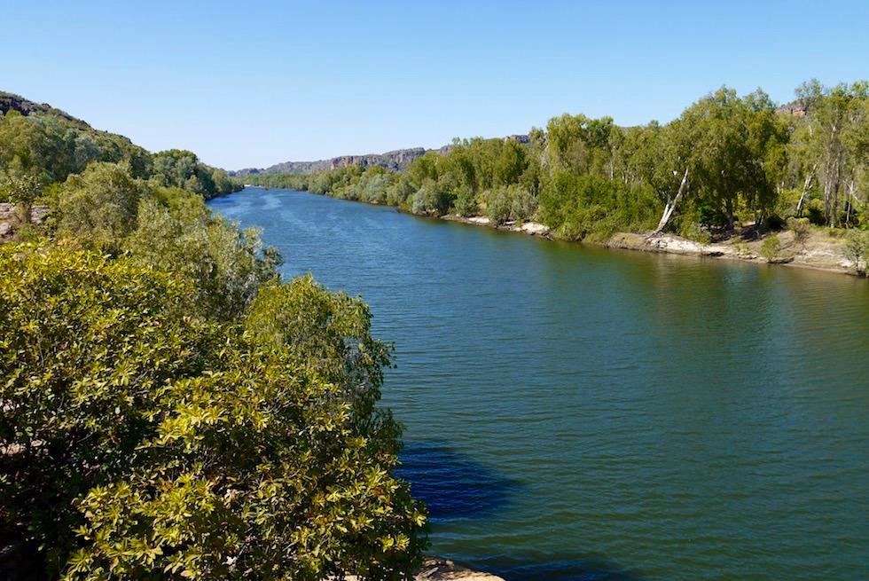 Weiter Blick über East Alligator River - Guluyambi Cruise - Northern Territory