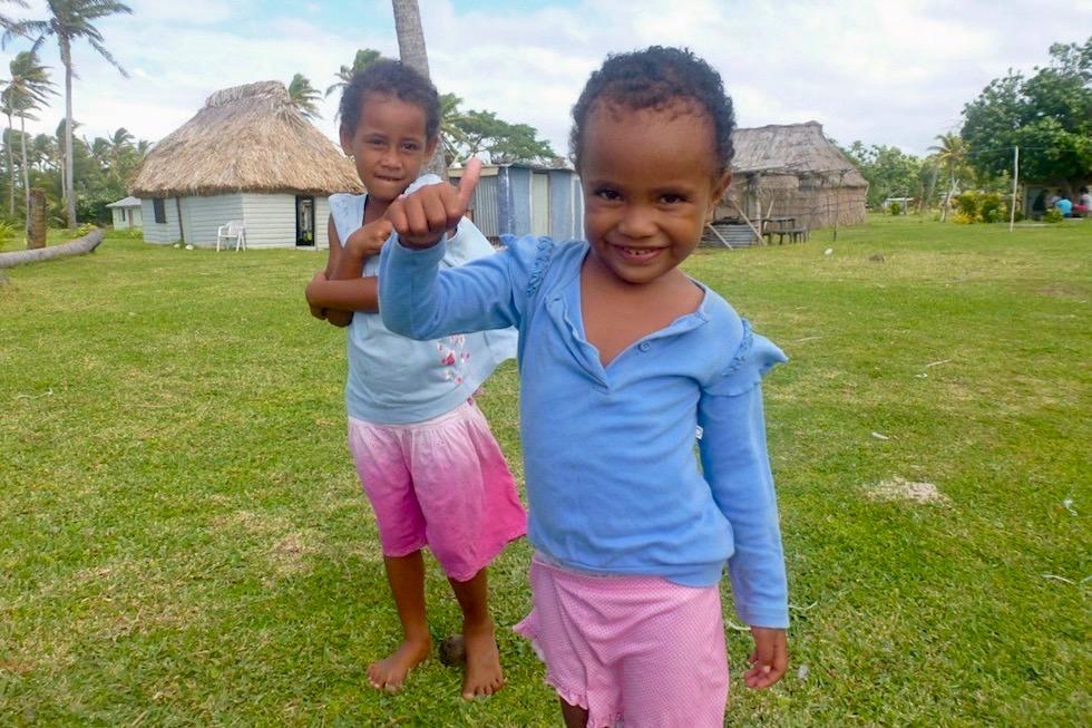 Fiji - Kinder lachen