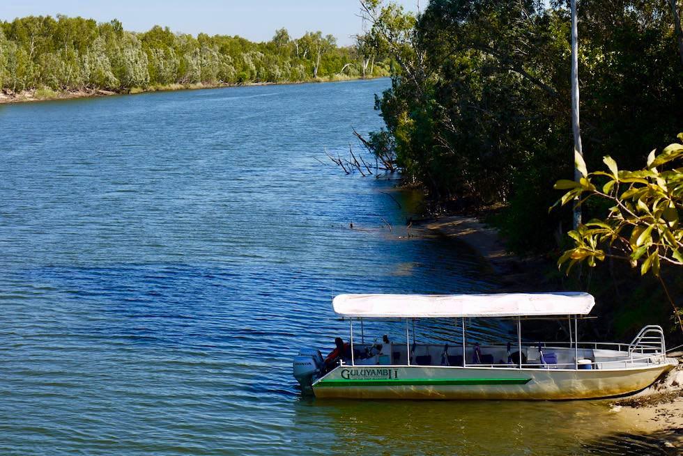 Guluyambi Boat Cruise - Blick auf den East Alligator River von Arnhem Land aus - Northern Territory