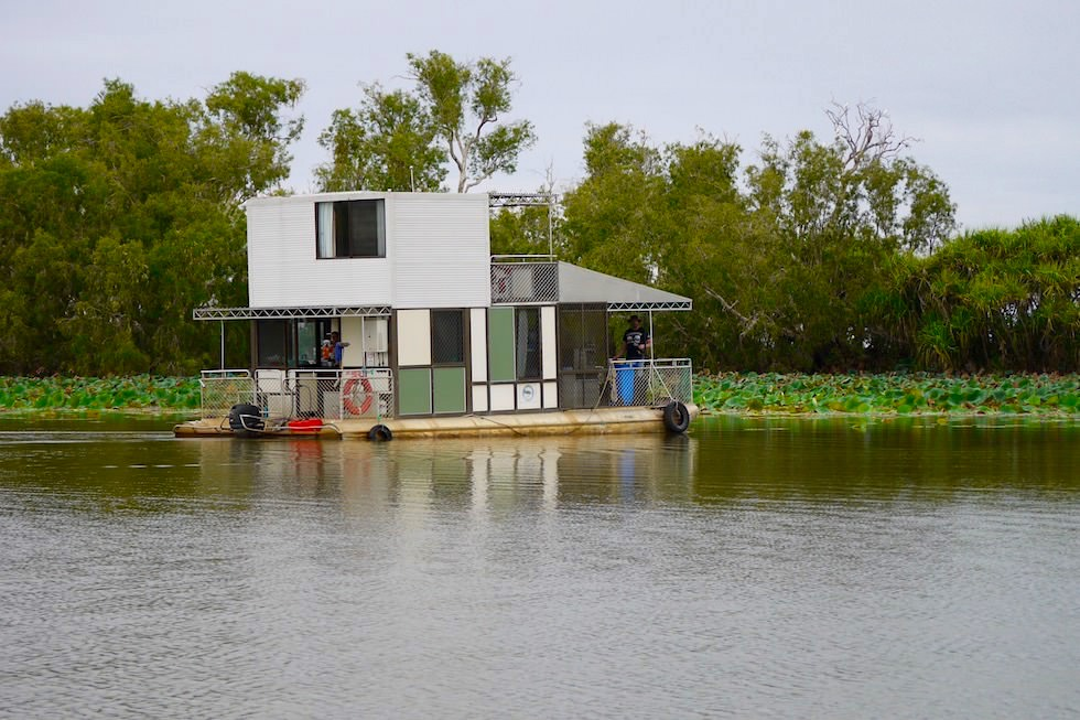 Hausboot Verleih - Mary River Houseboat am Corroboree Billabong - Northern Territory