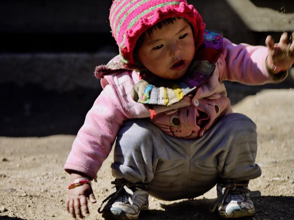 Kinder lachen - Nepal