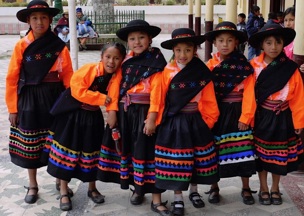 Kinder lachen - Peru