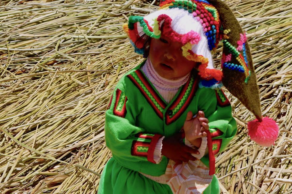 Kinder lachen - Peru - Titicacasee