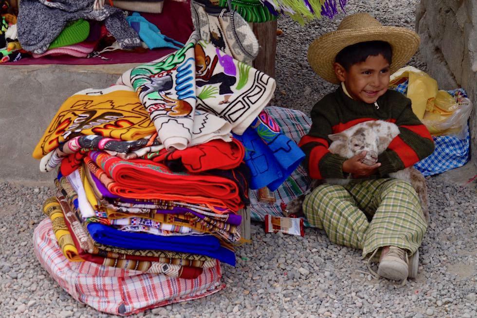 Kinder lachen - Peru - Markt