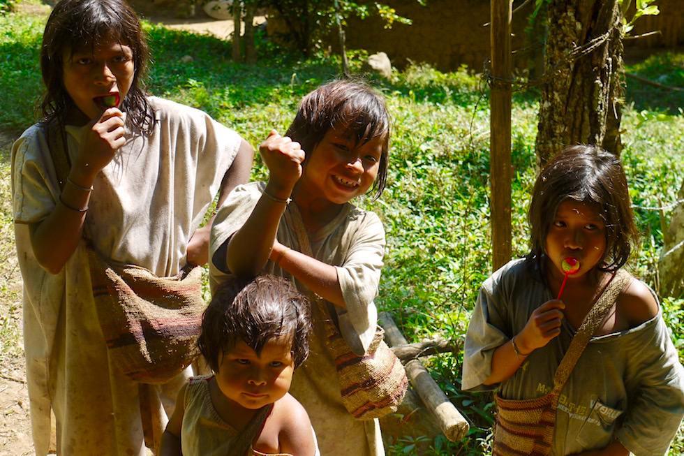 Kinder lachen - Kolumbien