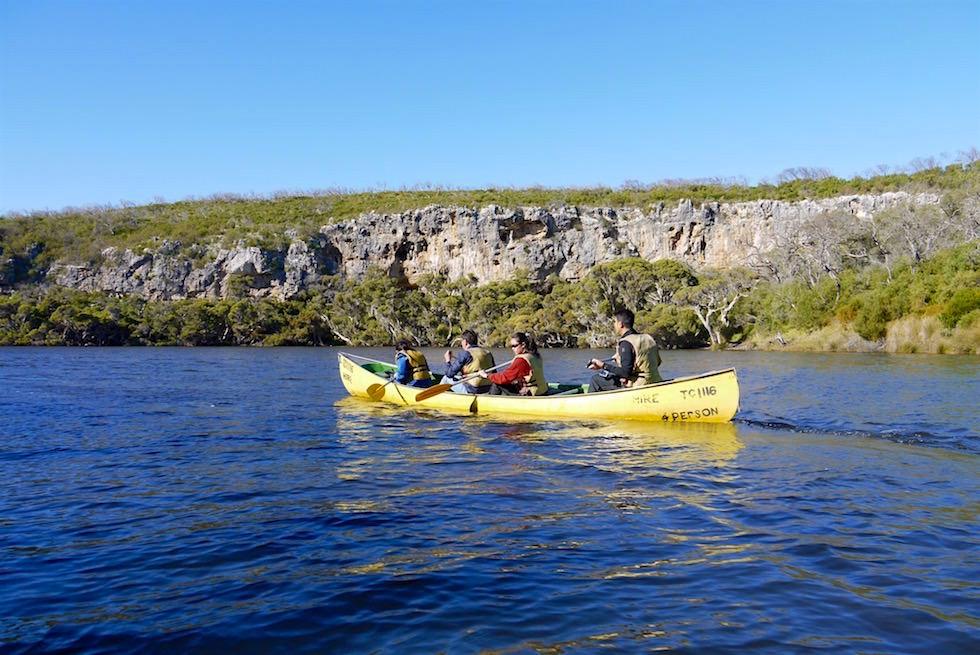 Kanu-Abenteuer: Bushtucker Cave & Canoe Tour - Margret River - Western Australia