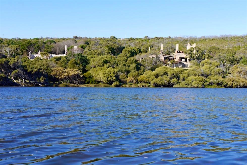 Verbrannte Villen entlang dem Margret River - Western Australia