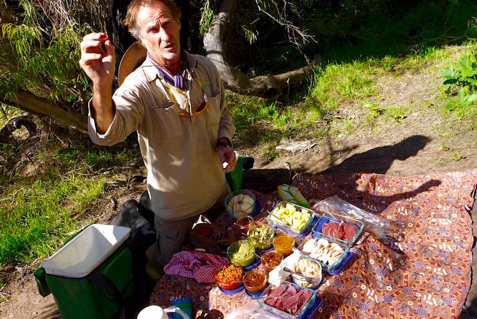 Bushtucker Lunch Cave & Canoe - Western Australia