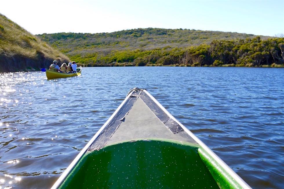 Blick auf Kanus & Margaret River - Western Australien