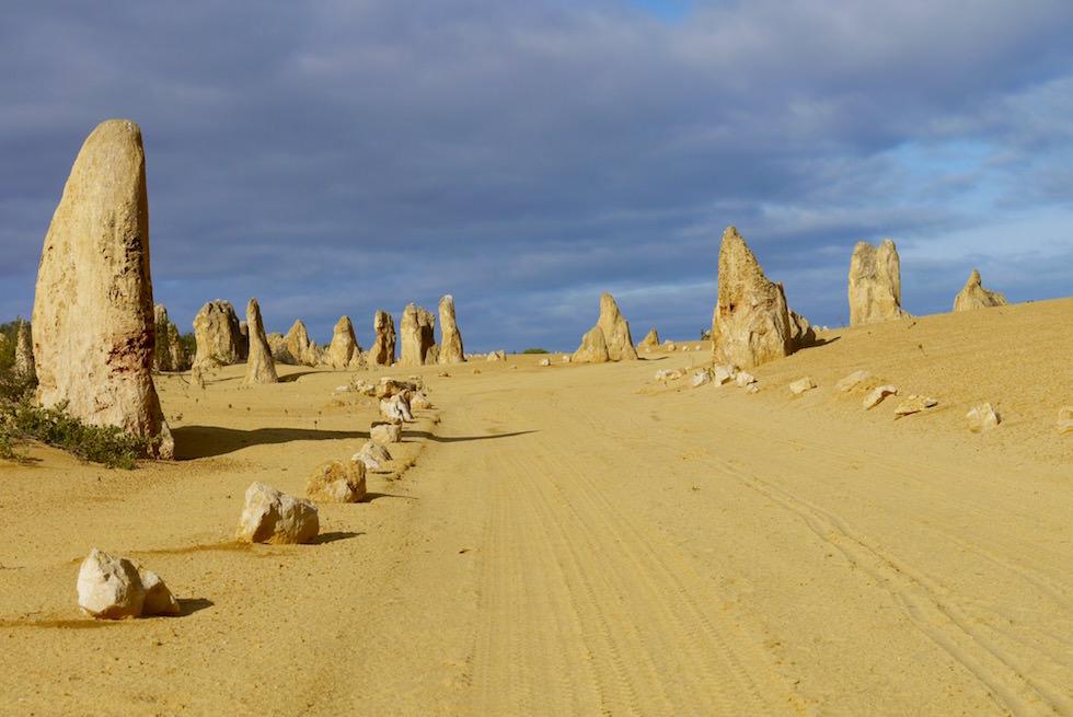Piste im Pinnacles Desert - Western Australia