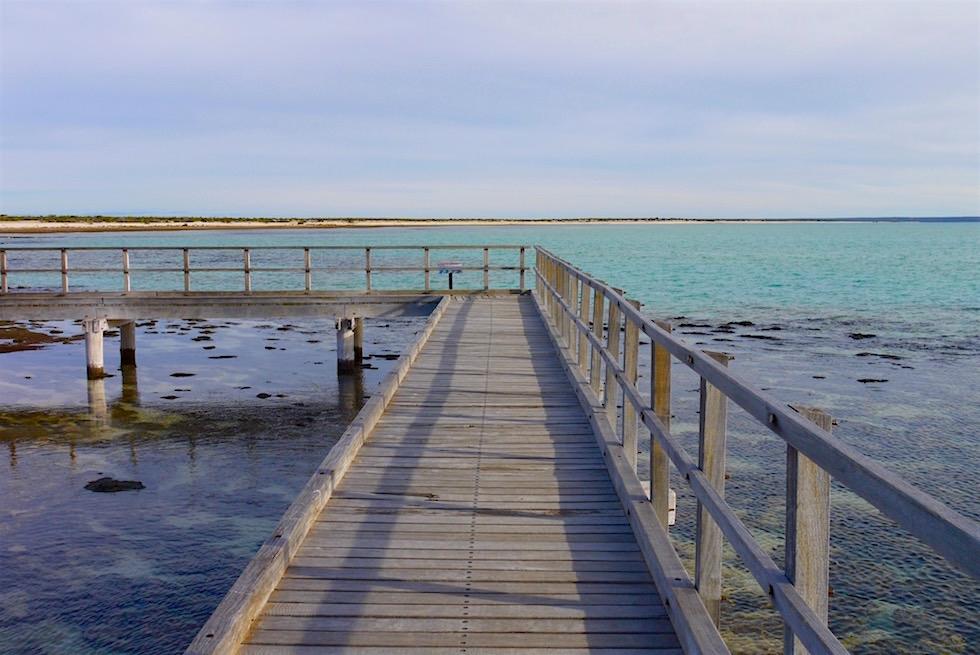 Holzsteg - Hamelin Pool - Western Australia