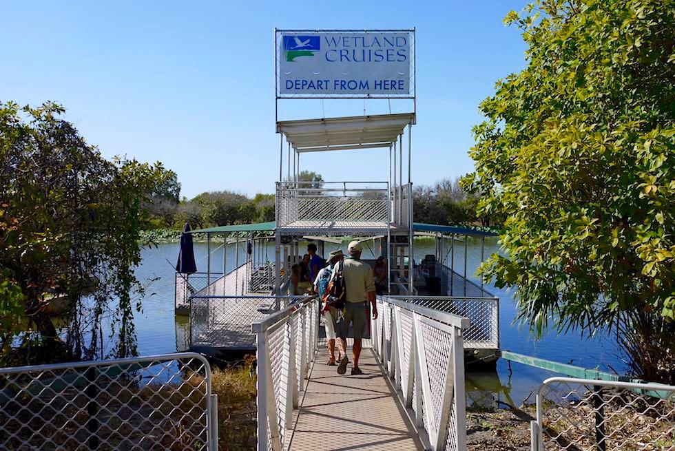 Steg - Corroboree Wetland Cruises - Northern Territory