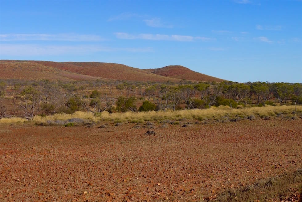 Rote Hügel - Grawler Ranges - Lake Gairdner - South Australia