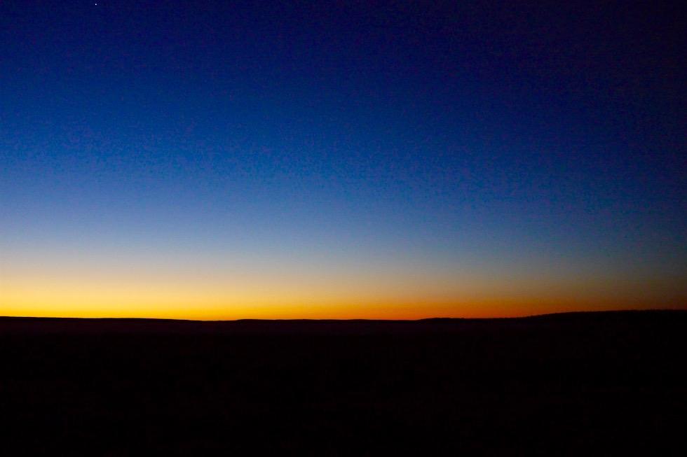 Before dark - Lake Gairdner National Park - South Australia