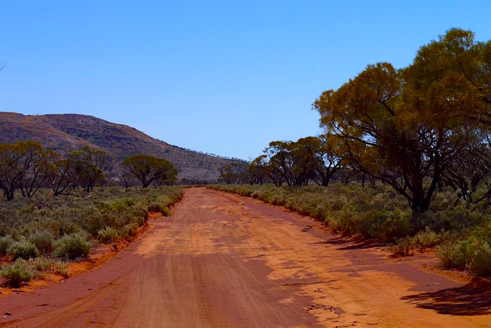 Off-Road Track - Lake Gairdner - South Australia