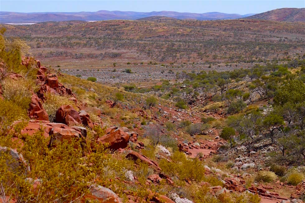 Blick Organ Pipes - Lake Gairdner - South Australia