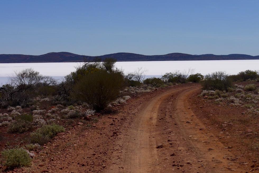 Zufahrt zum Lake Gairdner - South Australia
