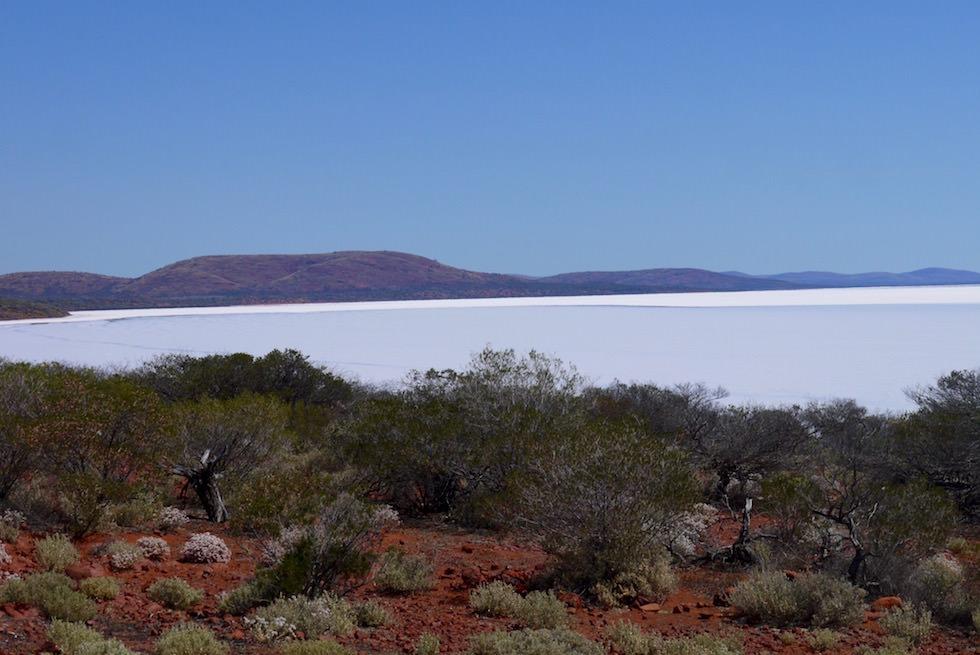 Blick auf Lake Gairdner - South Australia