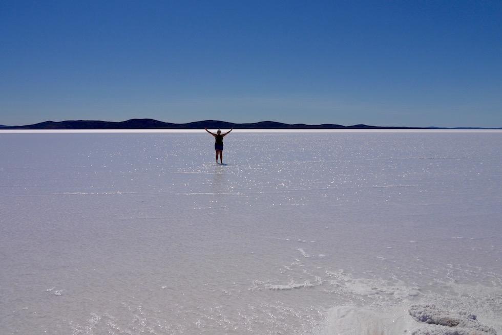 Mitten auf dem Lake Gairdner - South Australia