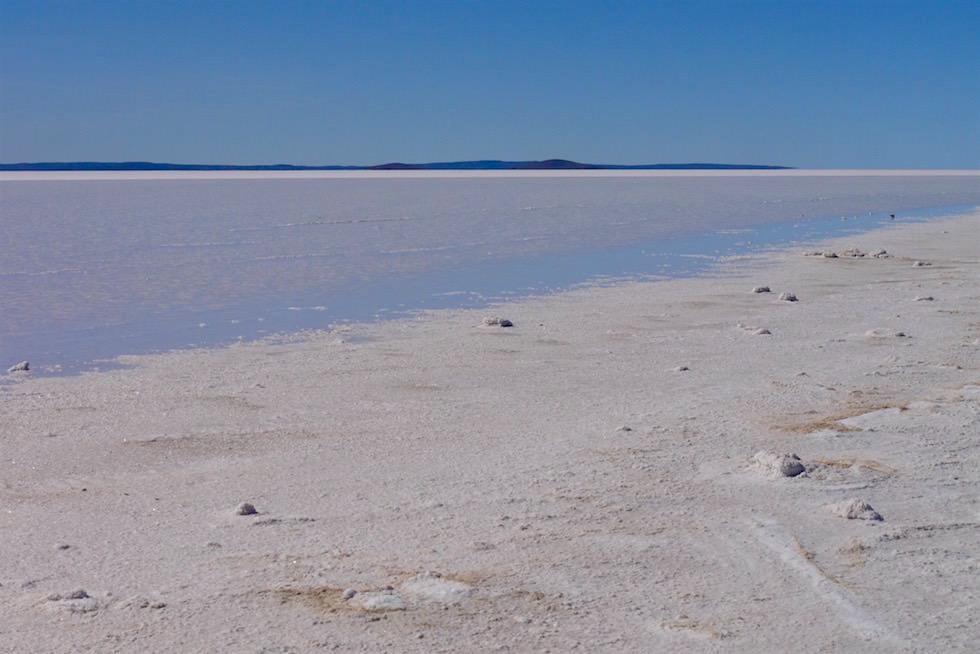 Schneeweißer Lake Gairdner - South Australia
