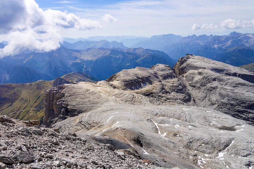 Leichte Piz Boe Wanderung- Faszinierendes Gipfelpanorama vom höchsten Gipfel der Sella-Gruppe - Dolomiten, Südtirol