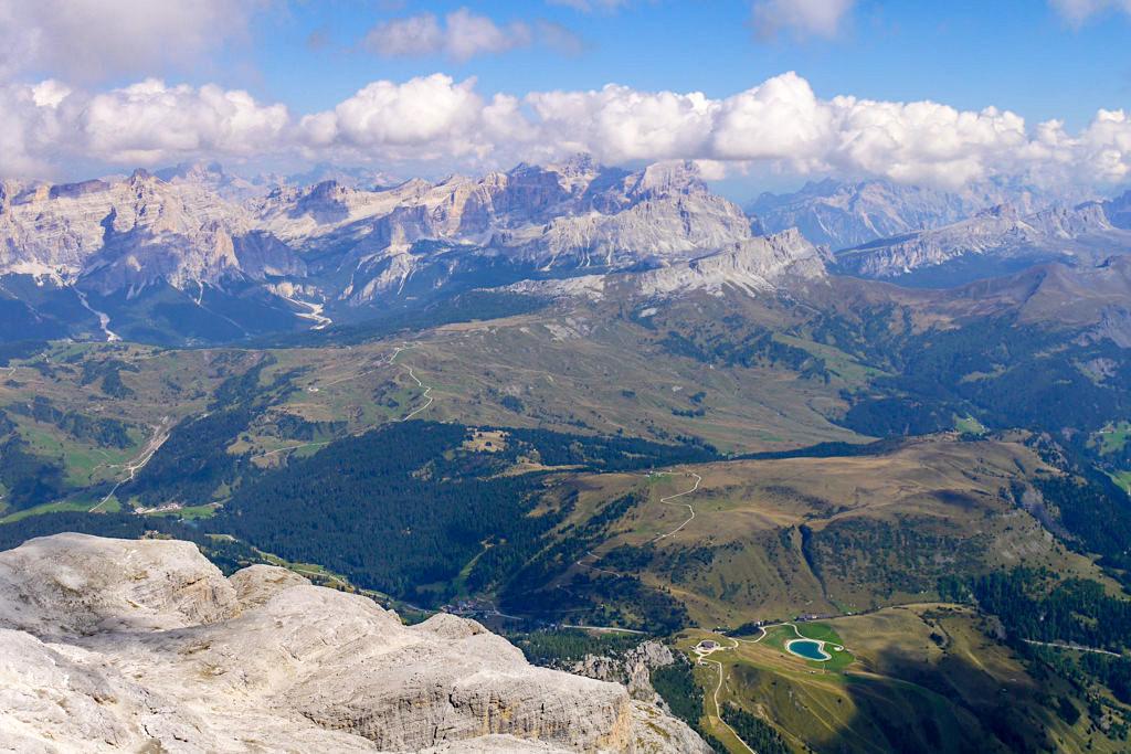 Piz Boe Gipfel-Highlights - Grandioses Alpen-Panorama vom höchsten Punkt der Sella-Gruppe - Dolomiten, Südtirol