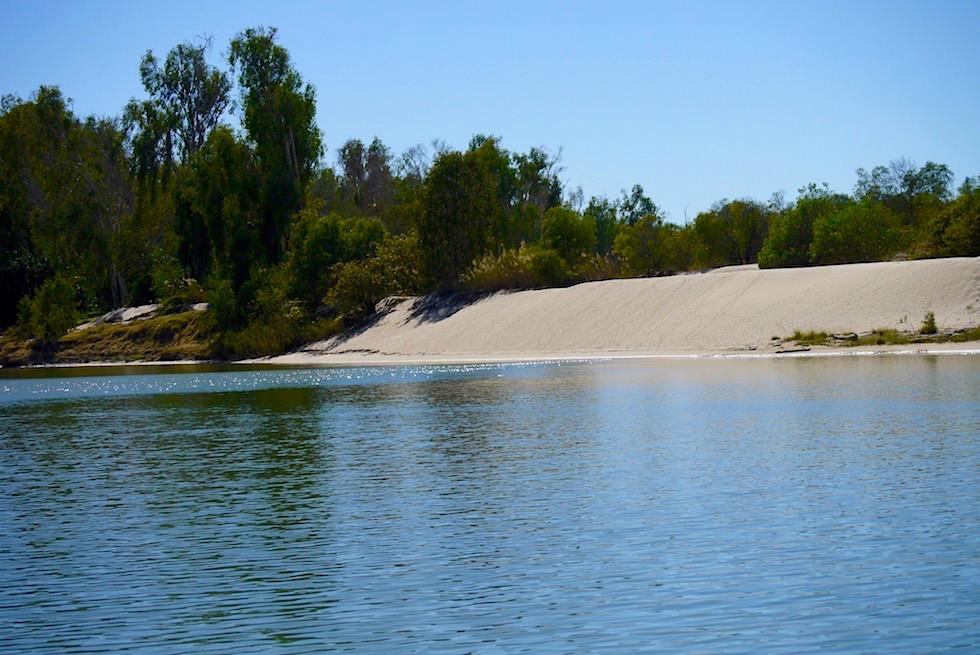 Sandbank am East Alligator River - Guluyambi Cruise - Northern Territory