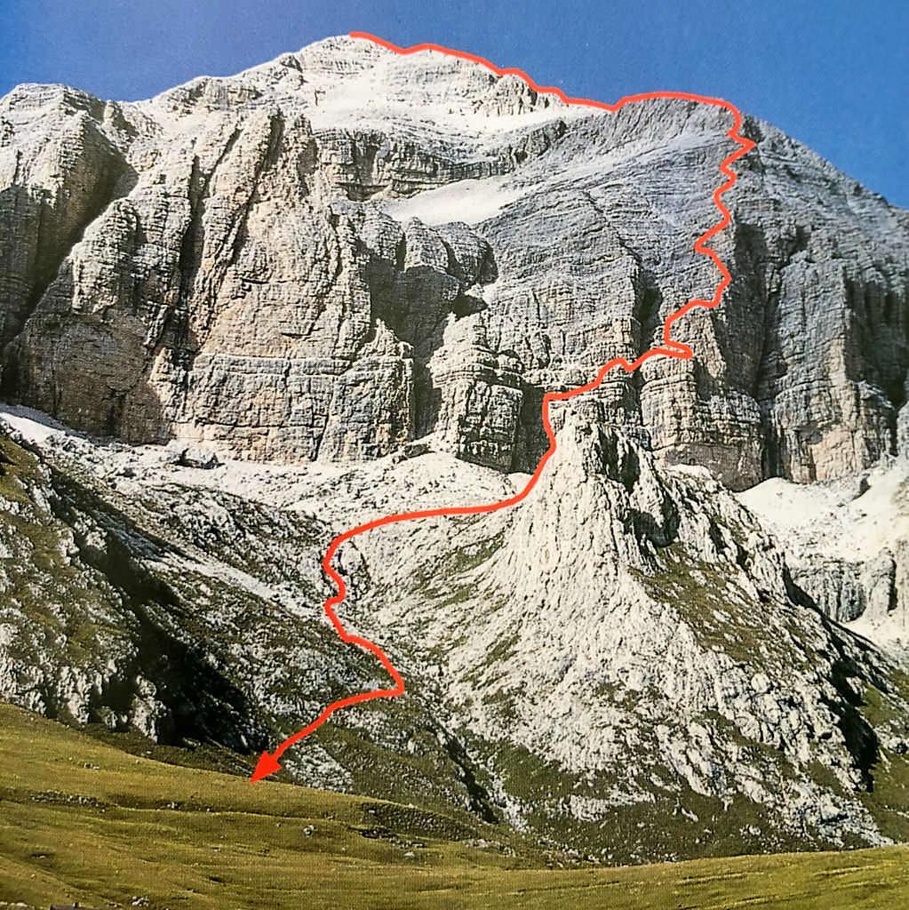 Via Ferrata Cesaare Piazetta - Extremklettersteig der Sellagruppe hinauf zum Piz Boe - Dolomiten, Südtirol