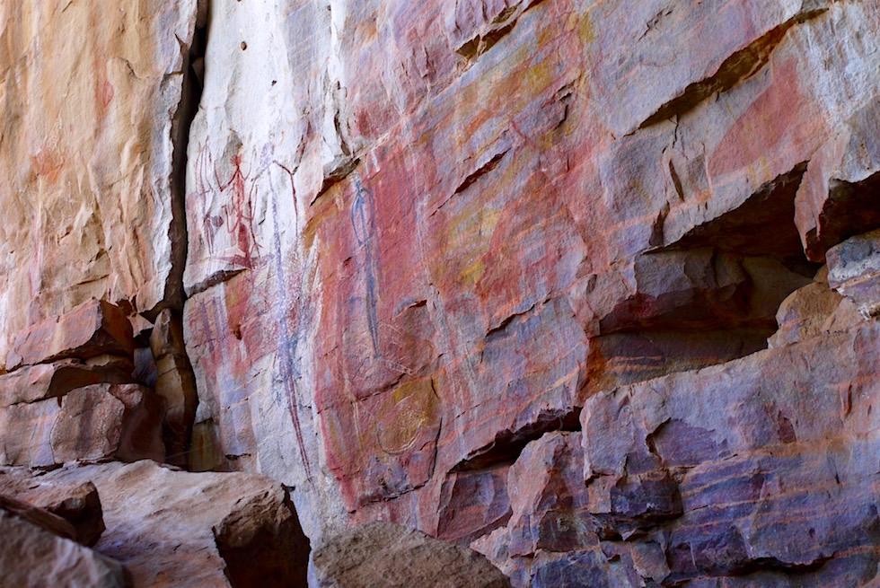 Wandmalerei Götter & Dämonen - Arnhem Land - Northern Territory