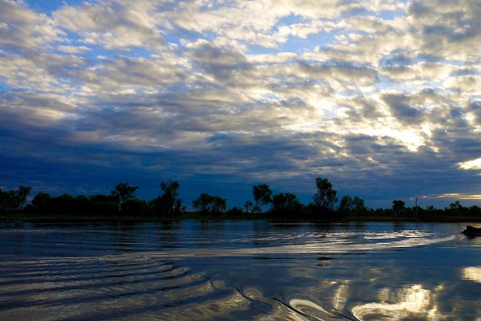 Wolken Sonne Spiegelungen - Corroboree Billabong - Northern Territory