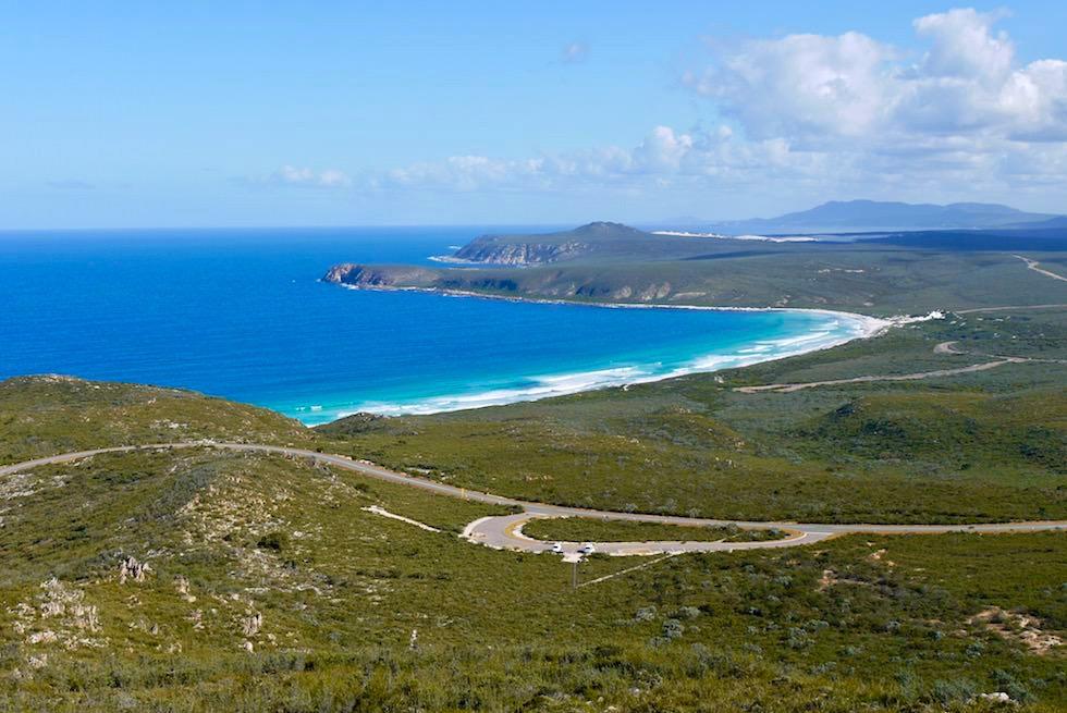 Ausblick beim Aufstieg auf den East Mount Barren - Fitzgerald River National Park - Western Australia