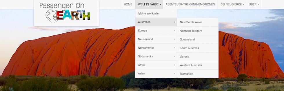 Australien - Passenger On Earth