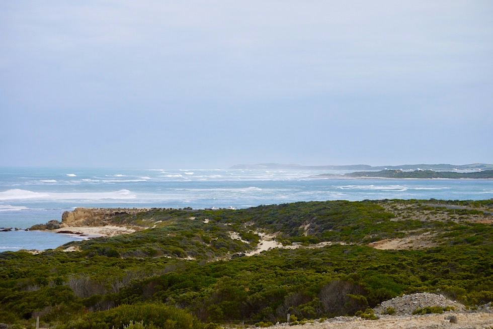 Blick vom Bicentennial Torrent Lookout - Cape Northumberland - South Australia