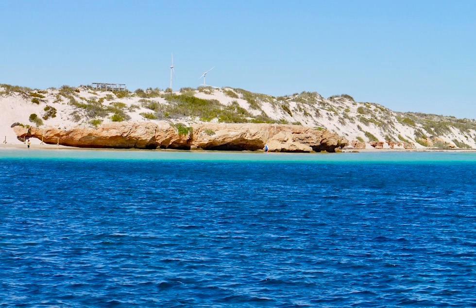 Felsvorsprung trennt Bills Bay von Purdi Point - Coral Bay & Ningaloo Reef - Western Australia