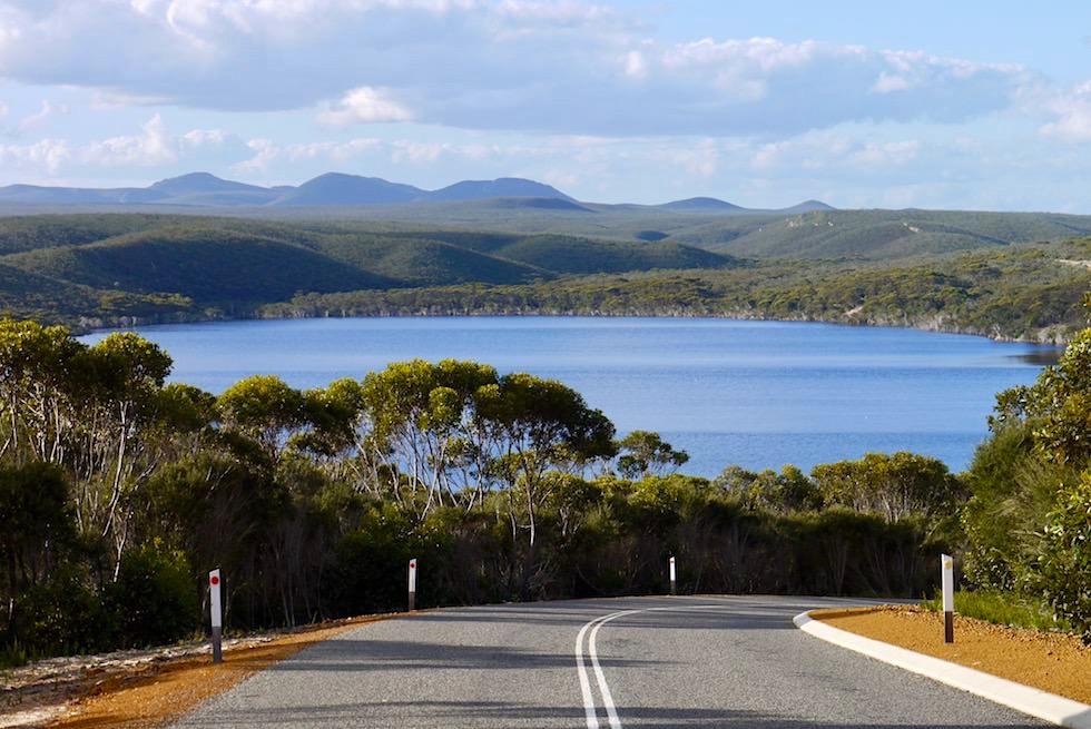 Blick von der Straße auf Hamsley Inlet - Fitzgerald River National Park - Western Australia