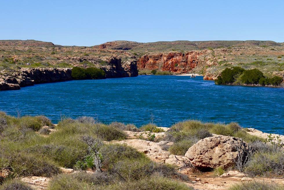 Blick auf das Mündungsgebiet des Yardie Creeks - Cape Range National Park - Western Australia