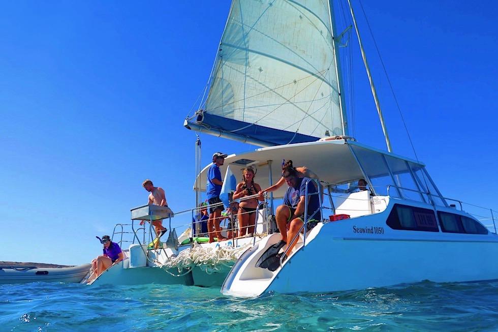 Bootsausfahrten Coral Bay - Coastal Adventure Tours - Western Australia