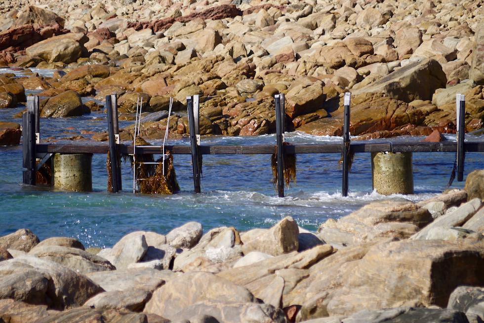 Geschützte Bucht beim Parkplatz der Canal Rocks - Yallingup - Western Australia