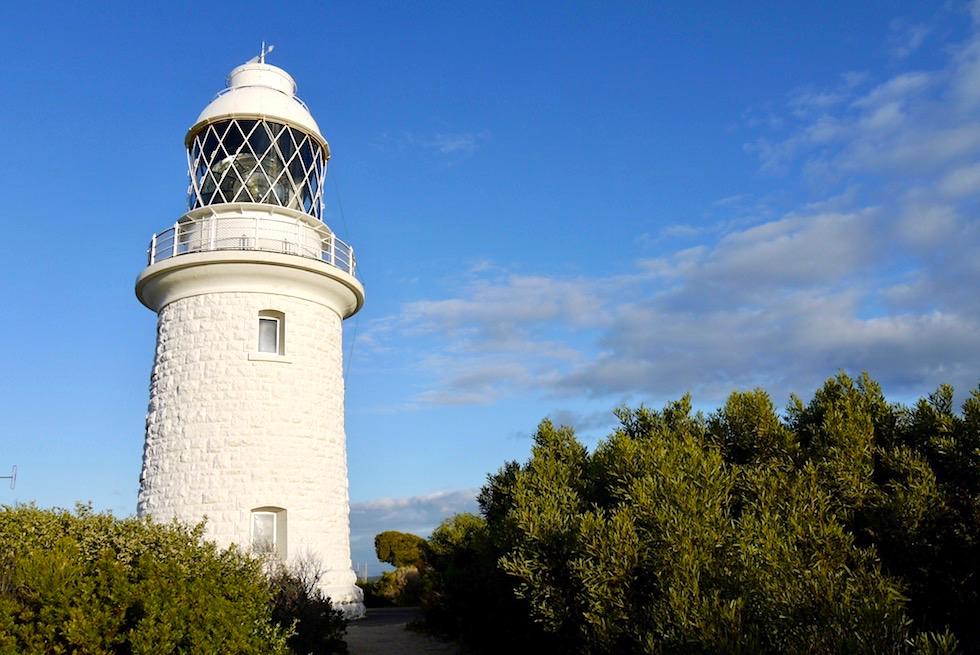 Cape Naturaliste Lighthouse im Sonnenlicht - Leeuwin-Naturaliste National Park - Dunsborough