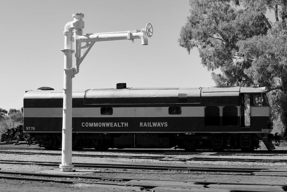 Commonwealth Railways - Workshop Quorn - South Australia