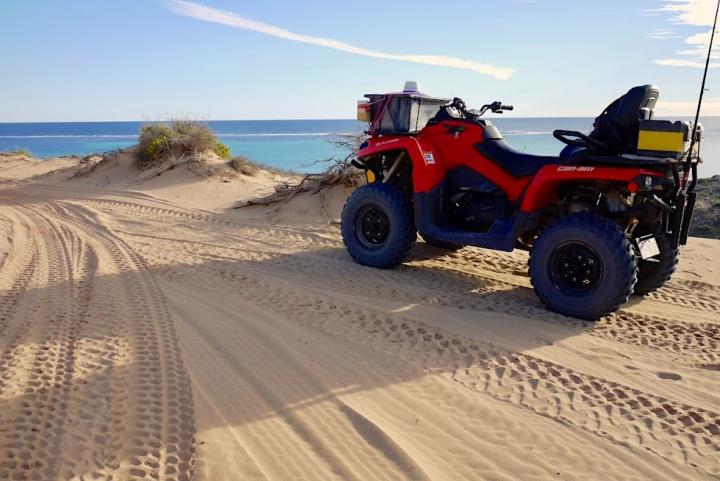 Faszinierender Blick auf das Ningaloo Riff - Coral Bay Quad Tour - Western Australia
