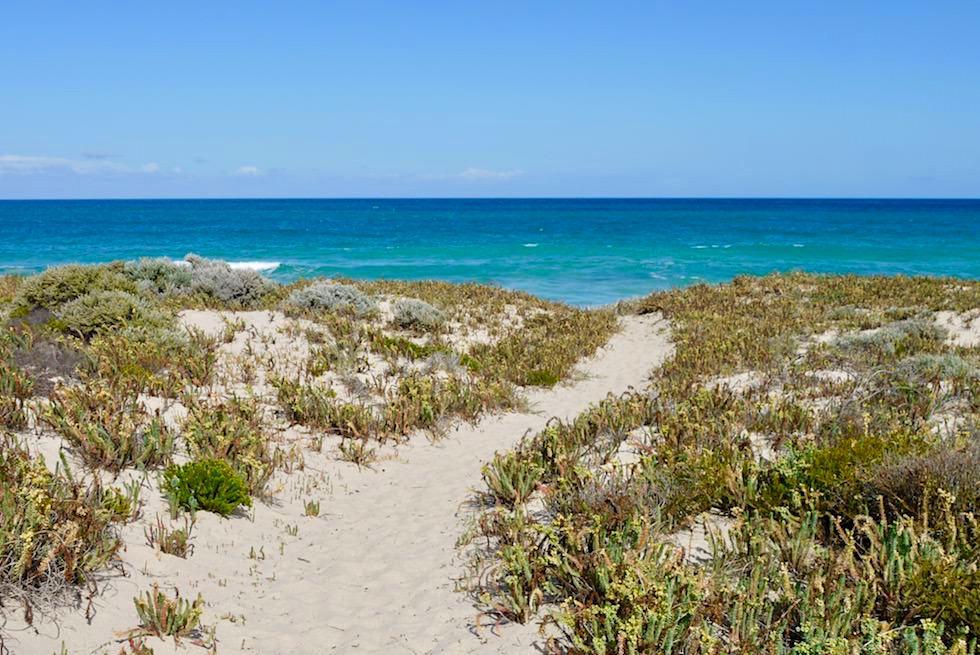 Culham Inlet über Sanddünen vom Meer getrennt - Western Australia