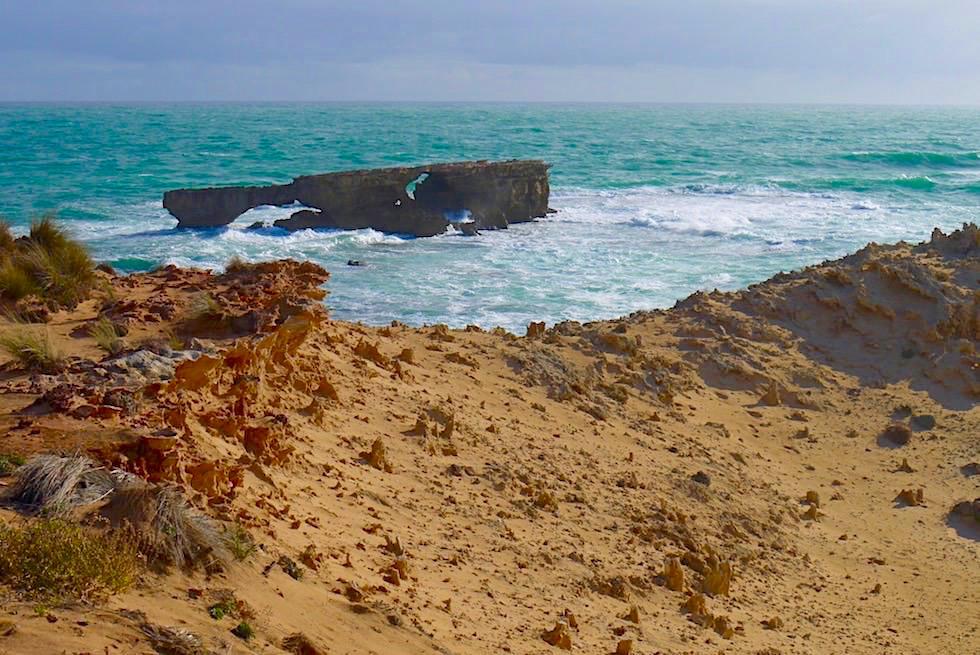 Doorway Rock an der Limestone Coast - Robe - Southern Ocean