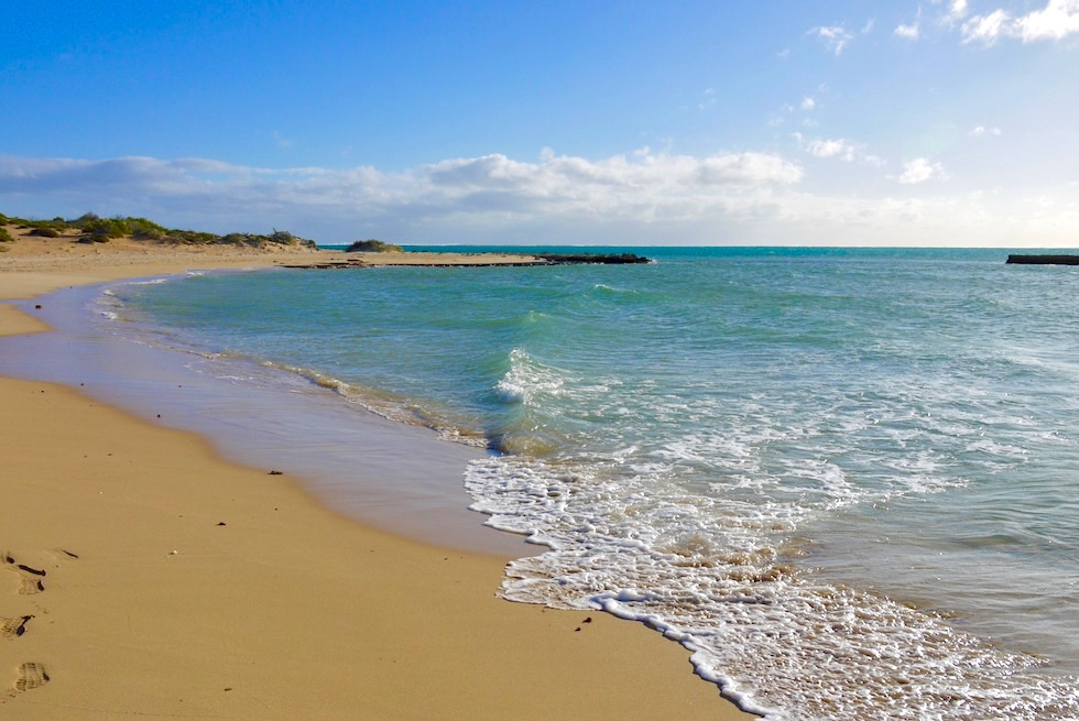 Einsamer Strand - Lakeside - Cape Range National Park - Western Australia