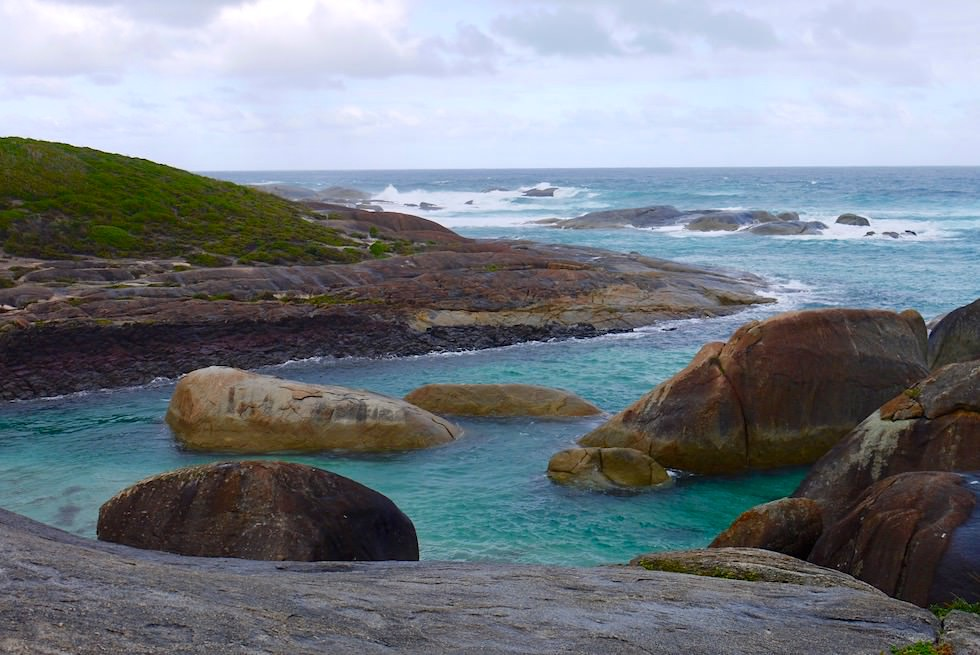 Elephant Cove eines der Rainbow Coast Highlights - William Bay National Park -Western Australia