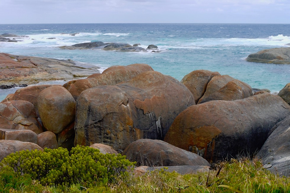 Elephant Rocks - William Bay National Park - Eines der vielen Rainbow Coast Highlights - Western Australia