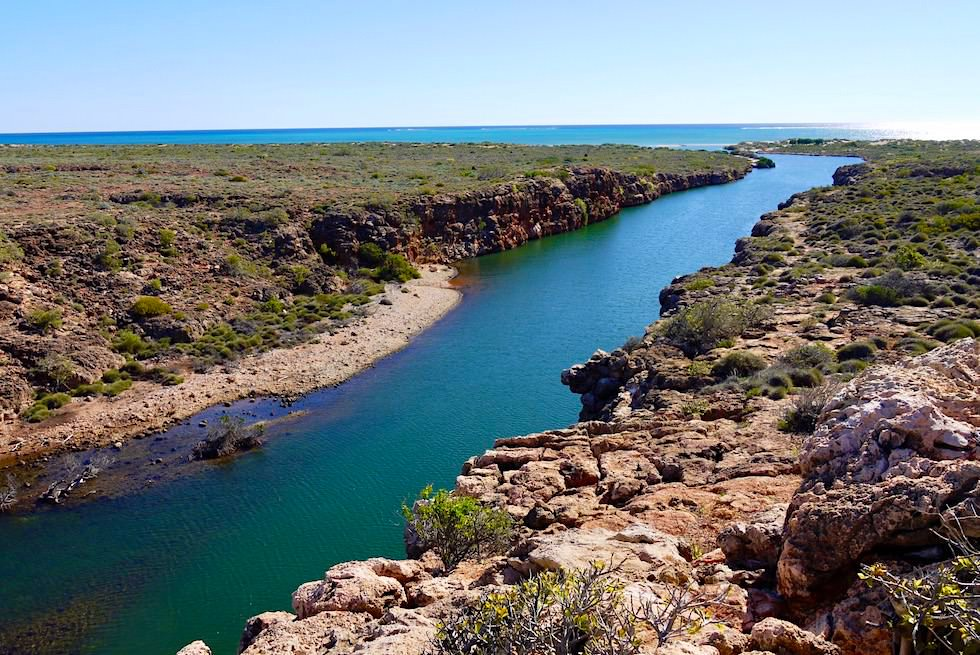 Leuchtende Farben: Yardie Creek & Ningaloo Reef - Cape Range National Park - Exmouth - Western Australia