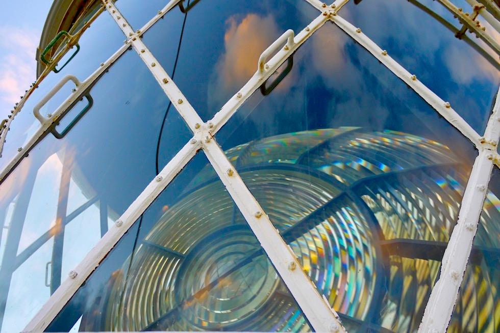 Fresnel-Linsen System - Cape Naturaliste Lighthouse - Dunsborough - Western Australia